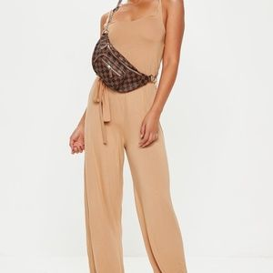 nude slouch soft jumpsuit missguided size 04
